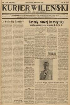 Kurjer Wileński : niezależny organ demokratyczny. 1933, nr336