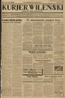 Kurjer Wileński : niezależny organ demokratyczny. 1933, nr349