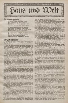 Haus und Welt. [1928], [nr5]