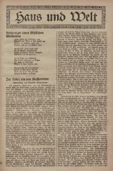 Haus und Welt. [1928], [nr19]