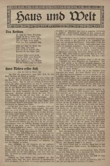 Haus und Welt. [1928], [nr32]