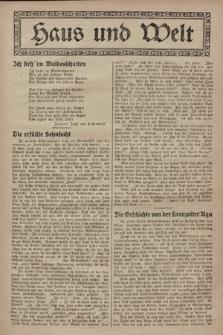 Haus und Welt. [1928], [nr34]