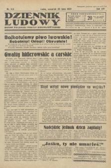 Dziennik Ludowy : organ Polskiej Partji Socjalistycznej. 1933, nr163