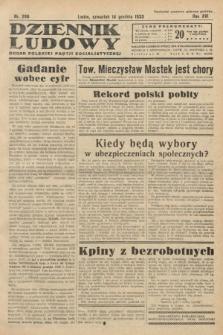 Dziennik Ludowy : organ Polskiej Partji Socjalistycznej. 1933, nr288