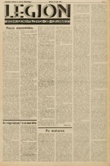 """Legjon : organ Legjonu Młodych Okr. Wileńskiego : bezpłatny dodatek do """"Kurjera Wileńskiego"""". 1933, nr1"""