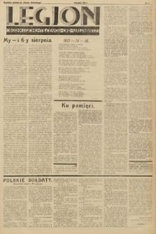 """Legjon : organ Legjonu Młodych Okr. Wileńskiego : bezpłatny dodatek do """"Kurjera Wileńskiego"""". 1933, nr2"""