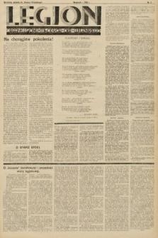 """Legjon : organ Legjonu Młodych Okr. Wileńskiego : bezpłatny dodatek do """"Kurjera Wileńskiego"""". 1933, nr3"""