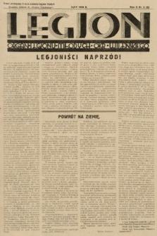 """Legjon : organ Legjonu Młodych Okr. Wileńskiego : bezpłatny dodatek do """"Kurjera Wileńskiego"""". 1934, nr2"""