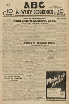 ABC : nowiny codzienne. 1935, nr10