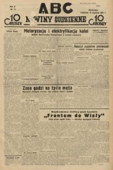 ABC : nowiny codzienne. 1935, nr14