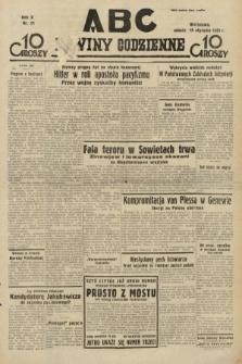 ABC : nowiny codzienne. 1935, nr21 [ocenzurowany]
