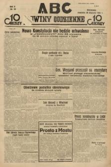 ABC : nowiny codzienne. 1935, nr22