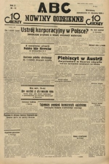 ABC : nowiny codzienne. 1935, nr23