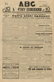 ABC : nowiny codzienne. 1935, nr28