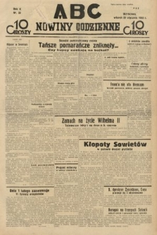 ABC : nowiny codzienne. 1935, nr32