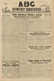 ABC : nowiny codzienne. 1935, nr33 [ocenzurowany]