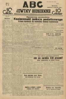 ABC : nowiny codzienne. 1935, nr34
