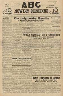 ABC : nowiny codzienne. 1935, nr39