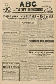 ABC : nowiny codzienne. 1935, nr40