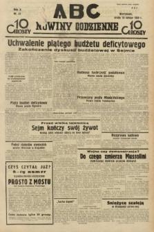 ABC : nowiny codzienne. 1935, nr47