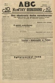 ABC : nowiny codzienne. 1935, nr49
