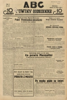 ABC : nowiny codzienne. 1935, nr50