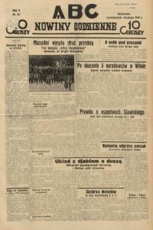 ABC : nowiny codzienne. 1935, nr52