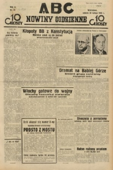 ABC : nowiny codzienne. 1935, nr57