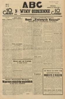 ABC : nowiny codzienne. 1935, nr58