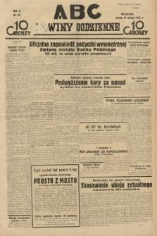 ABC : nowiny codzienne. 1935, nr61