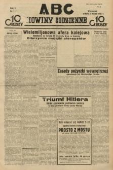 ABC : nowiny codzienne. 1935, nr [65] [ocenzurowany]