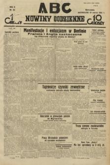ABC : nowiny codzienne. 1935, nr82