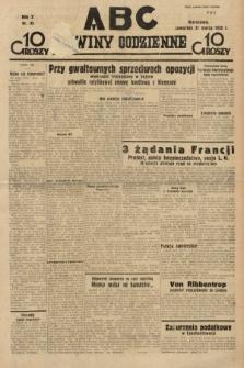 ABC : nowiny codzienne. 1935, nr85