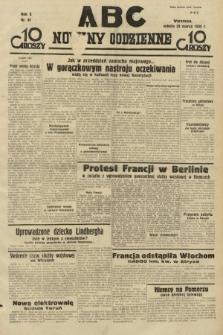 ABC : nowiny codzienne. 1935, nr87