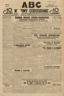ABC : nowiny codzienne. 1935, nr93