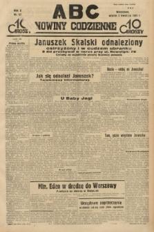 ABC : nowiny codzienne. 1935, nr97