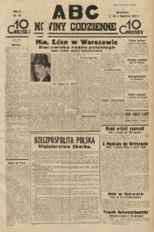 ABC : nowiny codzienne. 1935, nr98