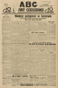 ABC : nowiny codzienne. 1935, nr113