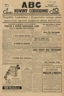 ABC : nowiny codzienne. 1935, nr115