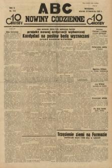 ABC : nowiny codzienne. 1935, nr116