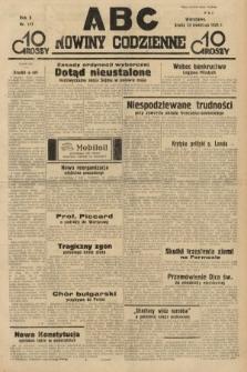 ABC : nowiny codzienne. 1935, nr117