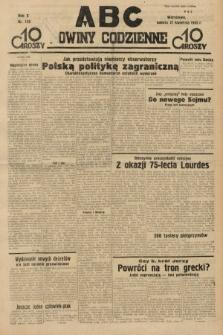 ABC : nowiny codzienne. 1935, nr120