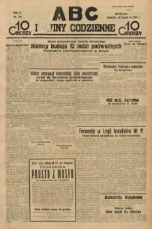 ABC : nowiny codzienne. 1935, nr121