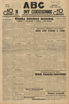 ABC : nowiny codzienne. 1935, nr126