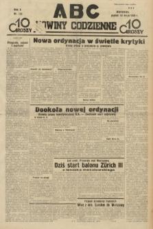 ABC : nowiny codzienne. 1935, nr133