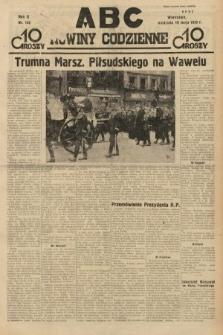 ABC : nowiny codzienne. 1935, nr142