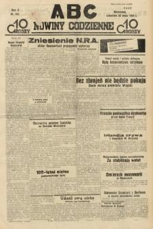 ABC : nowiny codzienne. 1935, nr153
