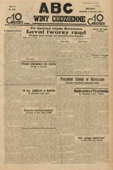 ABC : nowiny codzienne. 1935, nr160