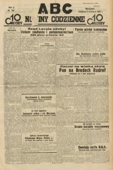 ABC : nowiny codzienne. 1935, nr163