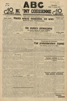 ABC : nowiny codzienne. 1935, nr166